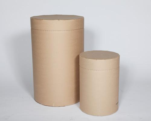 Large and small fully fibre drums