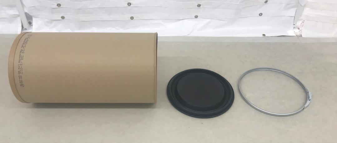 Enviroloc fibre drum body and base side by side