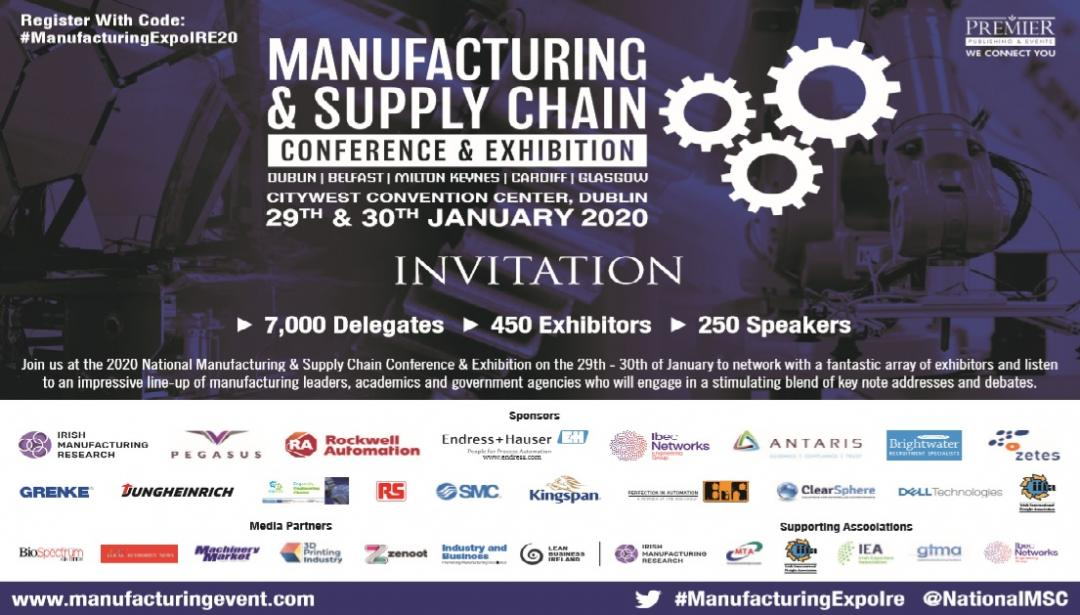 Invitation to Manufacturing and Supply Chain Event 2020