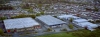 Aerial photo of the two Industrial Packaging factories in Bray Co Wicklow
